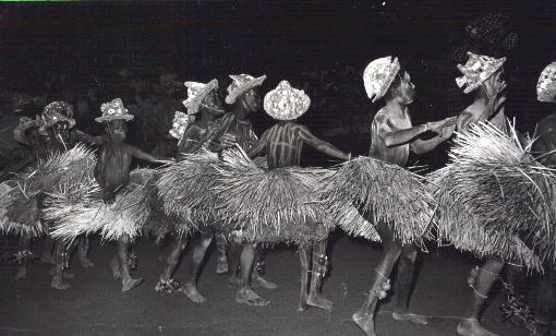 Festa da mukanda de noite - kandandji com khamba