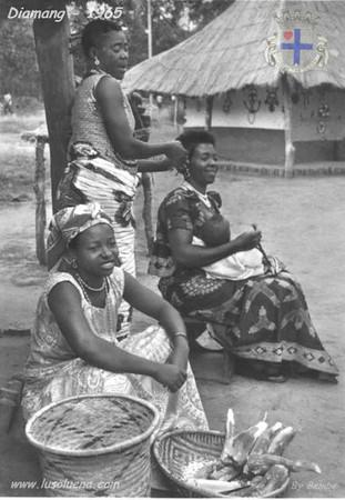 1965- Mulheres no aldeamento