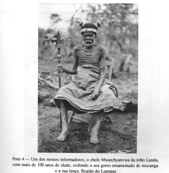 Chefe Mwatchyanvwa da tribo Lunda