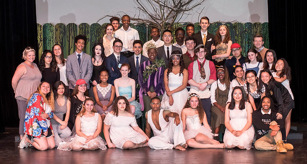 A MIDSUMMER NIGHT'S DREAM PRODUCTION 4/17