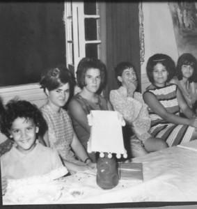 Carla Alfredo Pereira, Lena Silvestre, Luisa Santos, Isabel Caceiro, Bina Pereira, Teresa Fontinhas
