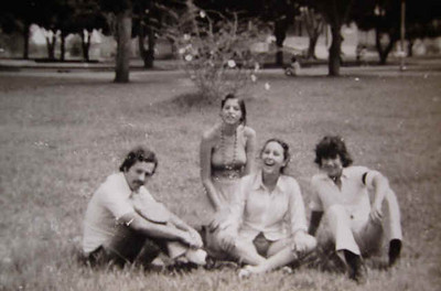 Vitor Rafael Costa,  Paula Rafael Costa, Mimi e Alvaro Rodrigues