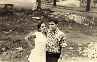Elisa Pereira Santos e Carlos Aires Marques