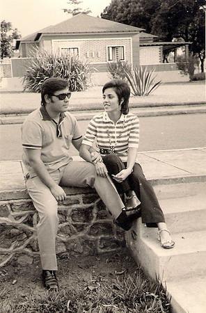 Carlos Aires marques e  Elisa Pereira Santos