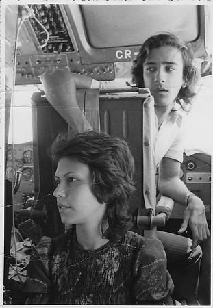 No Skyvan Dundo- Luanda 1973