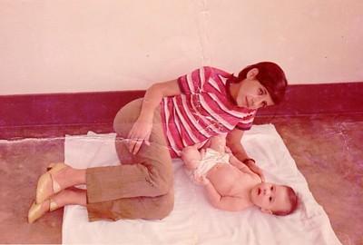 Anabela Figueiredo Antunes e sobrinha
