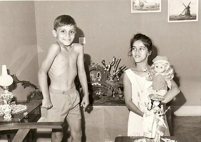 Dundo Ruca, e irma Magui Rebordao