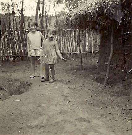 Olinda e Ju Encarnação em Maludi