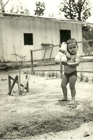 Joca Alfredo Pereira e o ursinho dele