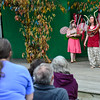 "KRISTOPHER RADDER - BRATTLEBORO REFORMER<br /> People gather at Living Memorial Park to watch the Shakespearean play ""A Midsummer Night's Dream"" on Thursday, June 29, 2017. People can still see the show Friday thru Sunday at 6 p.m."