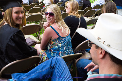 Jessa is excited! Basia in the middle, Brandon with the hat.
