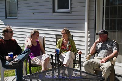 Mark, Karen, Janie and Rudy