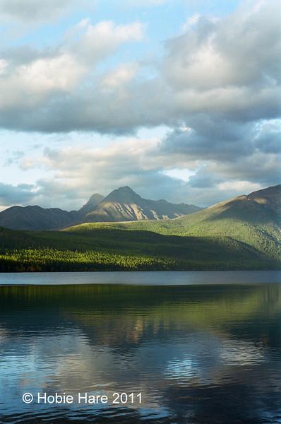 Kintla Lake in Glacier National Park