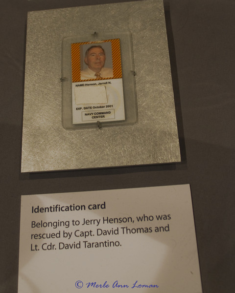 Pentagon - Worn by Navy physician Lieutenent Commander David Tarantino as he rescued Jerry Henson from his office at the Pentagon.