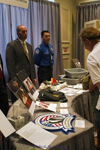 The TSA table at this exhibit