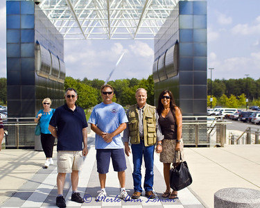 Thanks Carl (on the left) for bringing us here. The Steven F. Udvar-Hazy Center near Washington Dulles International Airport is the companion facility to the Museum on the National Mall.