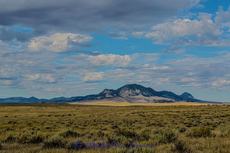 """Black Butte near Lewistown, Montana, Judith Mountains in the background - IMG_7236 ¯\_(ツ)_/¯ Please share and like the A Montana View Facebook page! Thanks so much for viewing. 