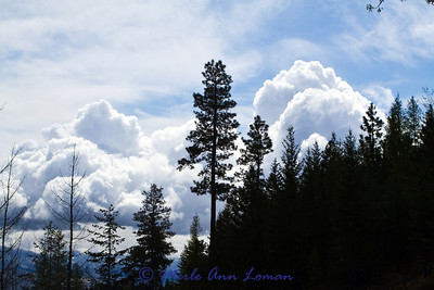 Clouds over the Bitterroot Valley