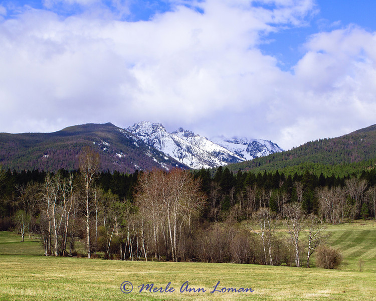 Bitterroot Mountains April 28
