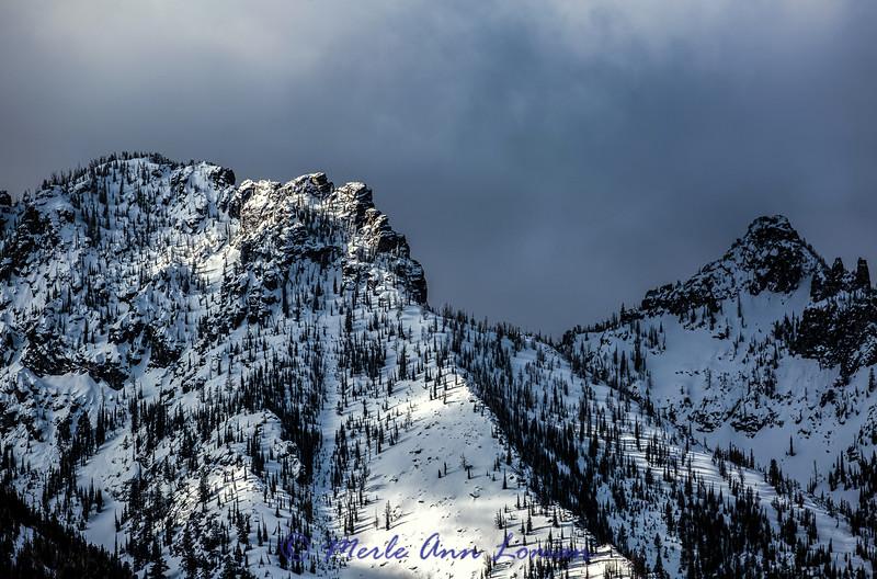 Totem Peaks, Bitterroot Mountains, Montana IMG_6332