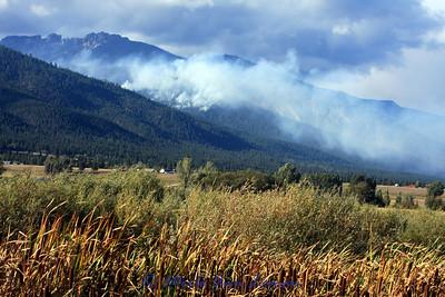 Kootenai Fire on Sept 19, 2009