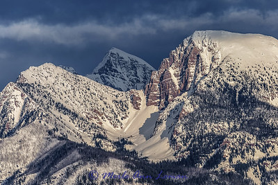 Mission Mountains Mar 2015 - taken from the National Bison Range IMG_9332