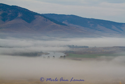 viewing the Flathead River from Red Sleep Mountain Drive