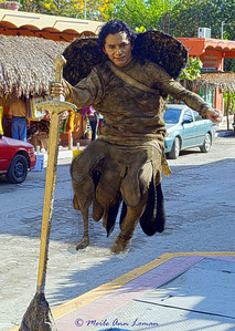 Art that is live on the streets of Sayulita. Image 1948