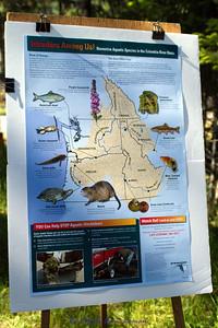 Intruders amoung us - non-native aquatic species in the Columbia River Basin