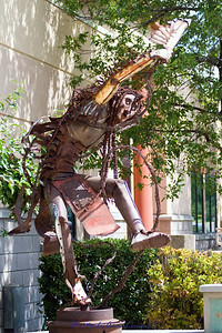 """""""Two Left Feet Dancing Free,"""" was purchased by Stevensville Art & Sculpture Society (Montana)"""
