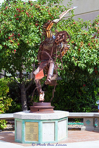 """Two Left Feet Dancing Free,"" was purchased by Stevensville Art & Sculpture Society (Montana)"
