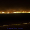 """Rope lights show you the way down the aisle. The bottom lights are the reflection in the floor at  <a href=""""http://www.missoulawinery.com/""""target=""""_blank""""> Missoula Winery and Event Center</a>."""