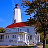 Autumn at The Sandy Hook Light House