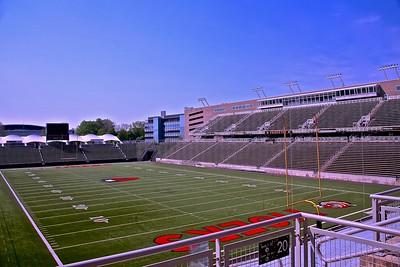 Interior of Princeton University Stadium