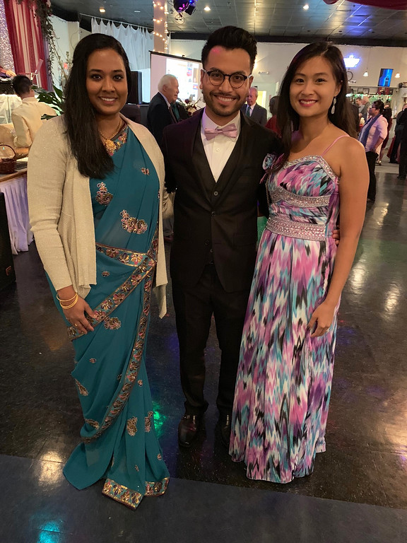 . From left, Prasanthi Rasad of Methuen, and Seyha Luong and Jenny Par, both of Lawrence