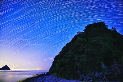 ヒメボタルの島 愛媛県 (Firefly2017-06)
