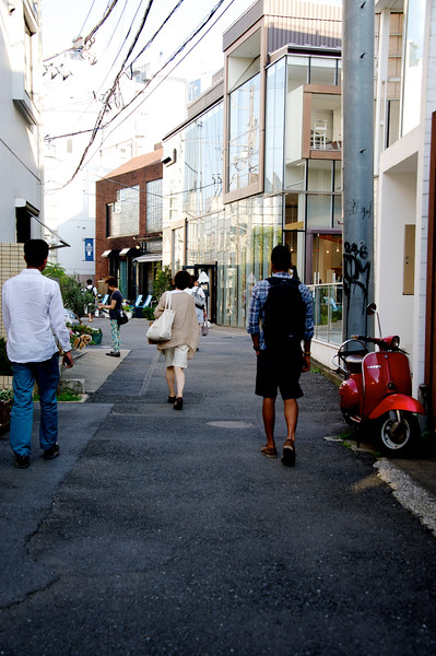 Daikanyama - with its little boutique-y shops and cafes