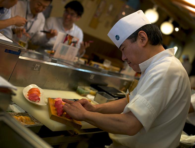 Sushi at Tsukiji