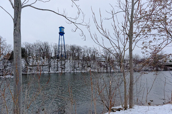 The Grand Ledge Water Tower