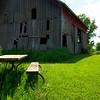 The Barn & the Picnic Table