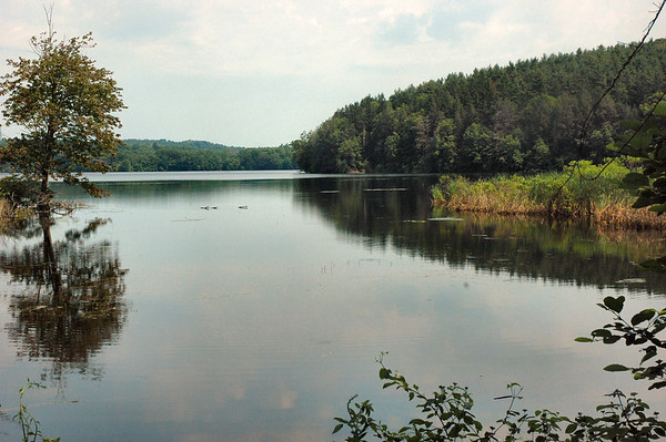 Winnekenni Castle - Kenoza Lake on the Dudley-Porter Trail