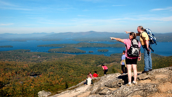 Atop Mount Major