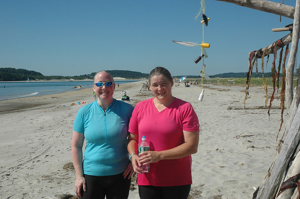 7/31/2011 - Sandy Point Judy and Debbie