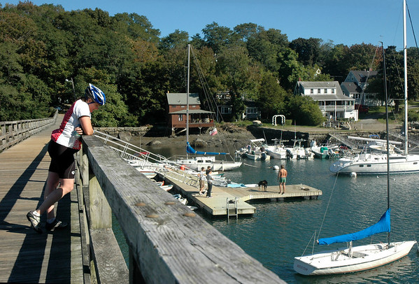 Gloucester MA - Annisquam Harbor Footbridge