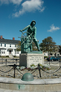 Gloucester MA - Fishermen's Memorial