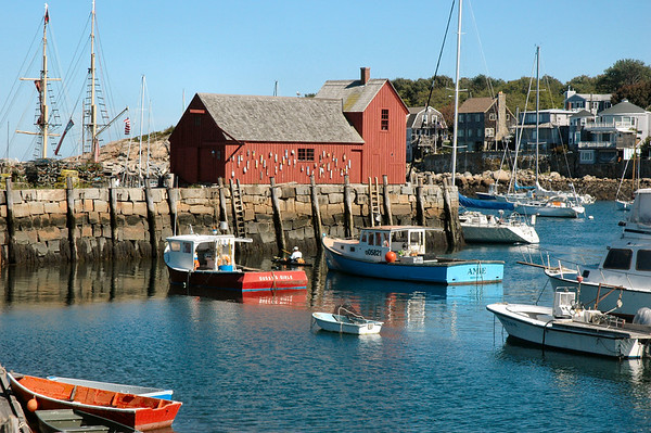 Rockport MA - Motif #1  one of the most photographed and painted subjects in the world