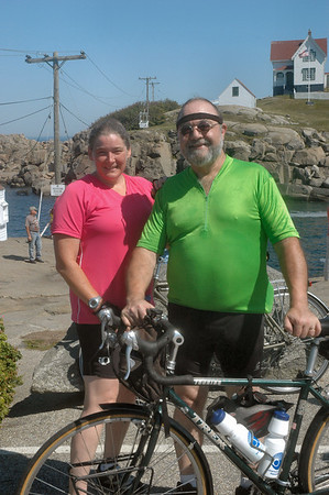 Cape Neddick ME - 8/29/2010 - Nubble Light - Tony and Debbie