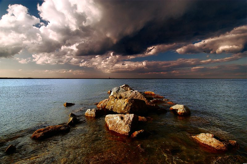 The Drama of the Clouds --This image won First Place in the Seascapes Category of the Cape Cod Life Photo Contest and appears in the June 2005 issue.