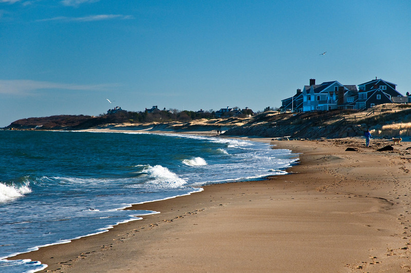 Corporation Beach--Cape Cod on a perfect Sunday morning
