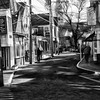 Winter in Provincetown  - B&W